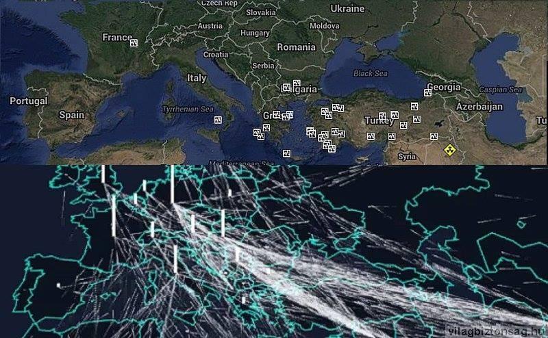 A migráns útvonalakon van a legtöbb földrengés. Nem ott ahonnan jönnek, hanem ott ahol átkelnek.