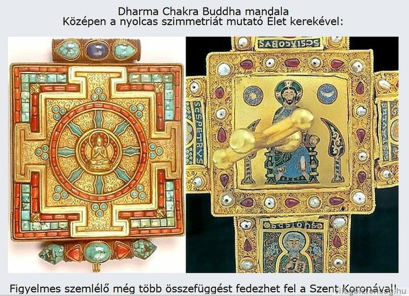 Buddha az Élet kerekében - A Felső Pantokrátor (Ítélő Krisztus) a Szent Koronán
