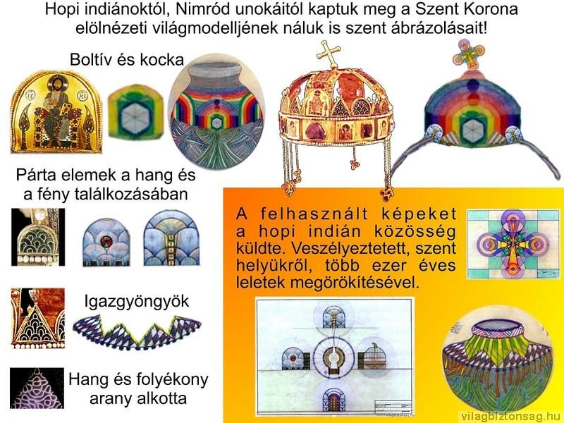 Hopi indiánok szent edényei