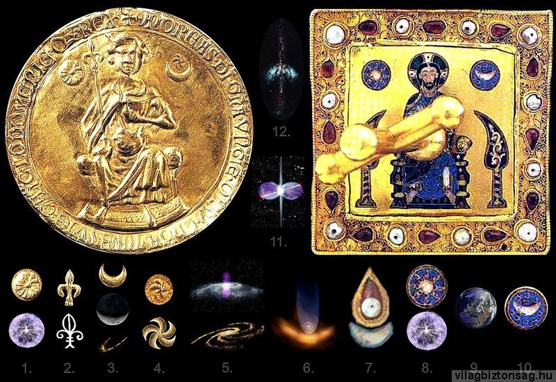 Kozmikus jelképrendszer a Szent Koronán és az Aranybullán